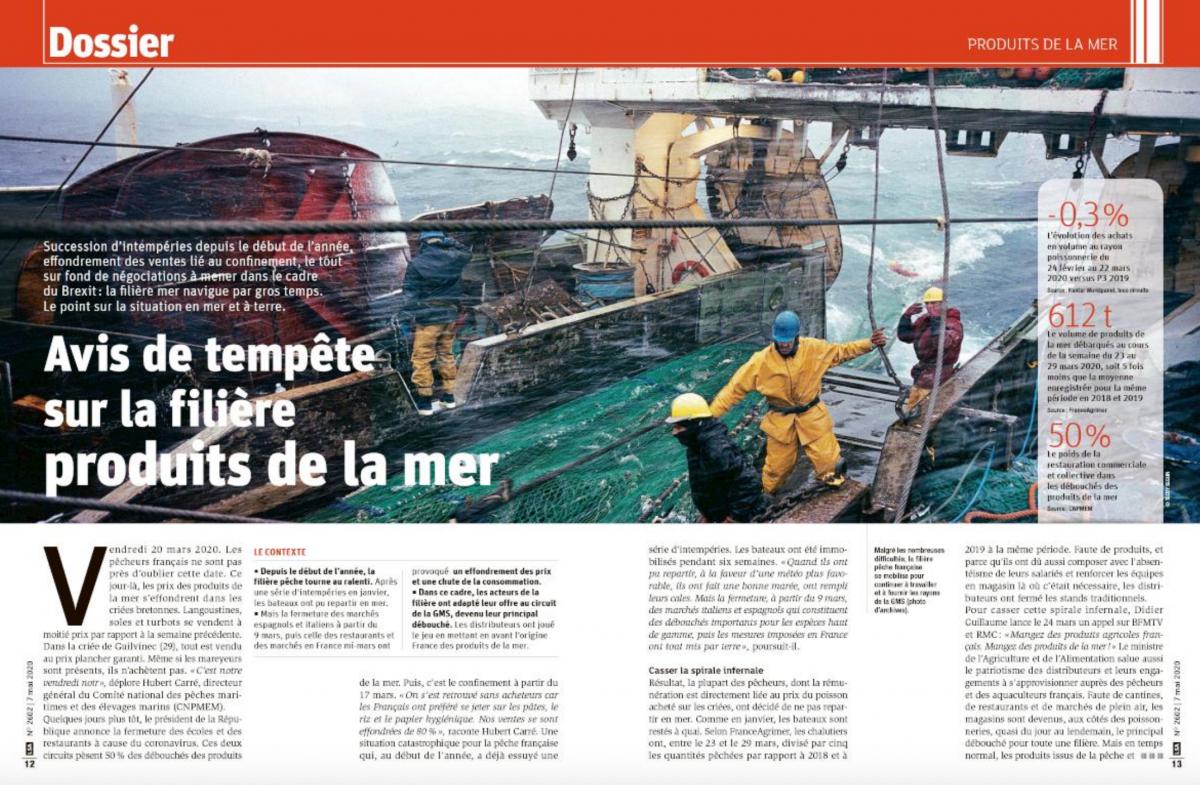 Dossier LSA sur les Produits de la Mer – Mai 2020