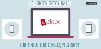 Nouvelle version du portail e-sidoc