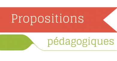 Retrouvez toutes les propositions pédagogiques