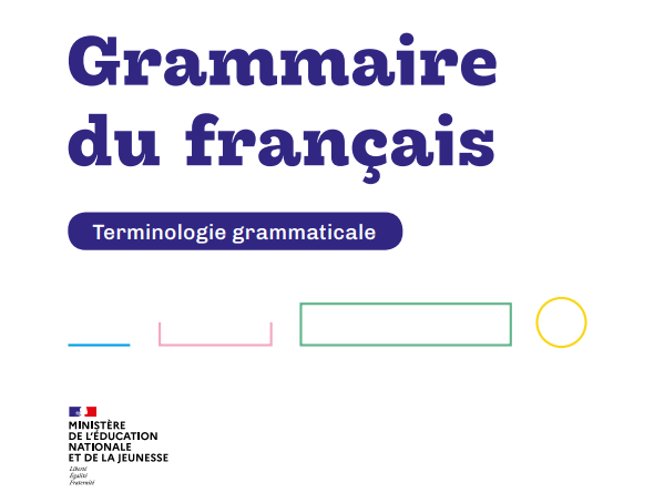 Terminologie grammaticale