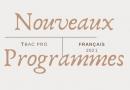 Nouveaux programmes Term bac pro français