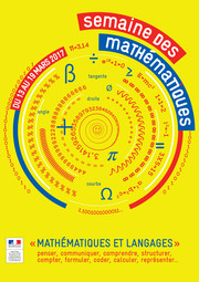 affiche Semaine des maths 2017