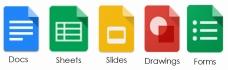 Suite Google : lien vers le site Google