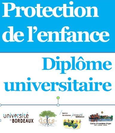 Diplôme Universitaire « Protection de l'Enfance »