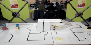 🗂 Organiser une rencontre avec des défis robotiques dans le cadre de la liaison collèges/lycée