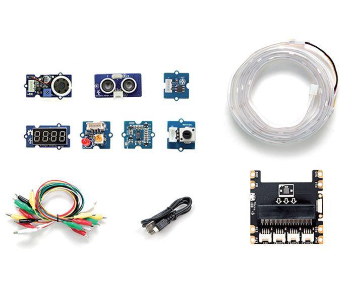 Programmer la carte <b>micro:bit</b> avec des <b>accessoires Grove</b> : utilisation et exemples