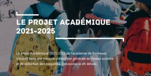 Le projet académique 2021-2025