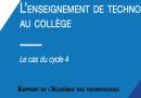 Rapport de l'Académie des Technologies