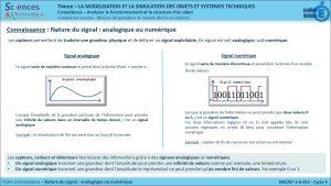 MSOST-1-6-FE3-Nature du signal