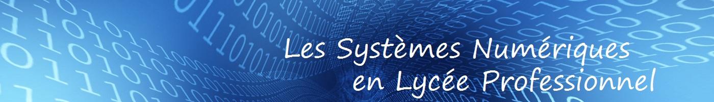 Systèmes Numériques en Lycée Professionnel